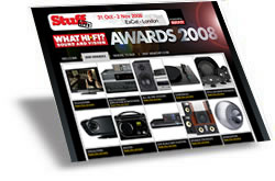 What HI-FI awards 2008